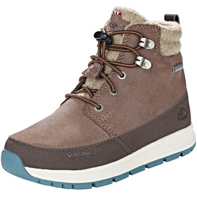 Viking Footwear Rotnes GTX Shoes Juniors dark brown/light brown